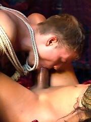 Yasmin Lee lures a sailor to her lair, fucks him and devours his body with her trademark sexual domination.