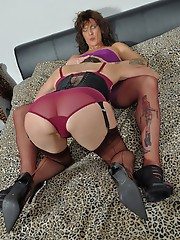 Jane gets her hands and strapon on two filthy TGirl sluts.