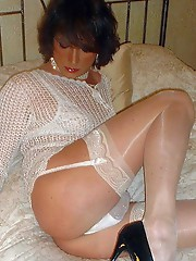Crossdressers in sexy maids outfits and other horny dresses.