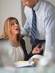 Jasmine blows coworker