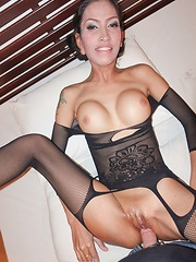 Black Bodysuit Bareback