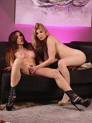 Eva Paradis and Angelina Torres