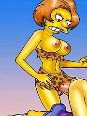 Simpsons` futanari sex frenzy hitting Springfield
