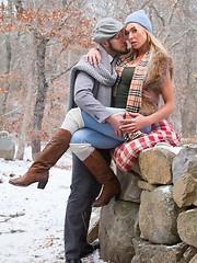 Aubrey Kate and Wolf Hudson