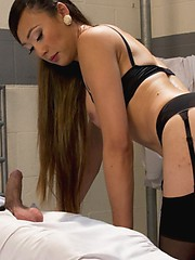 Venus Lux uses her seductive cock and domination and fucks her fuck slaves ass!