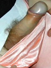 Gorgeous set of pantie lovers with very hard cocks