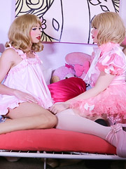 Sarina Valentina  and Sasha Sissy