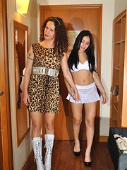 Nikki and teenager Natalia Dior