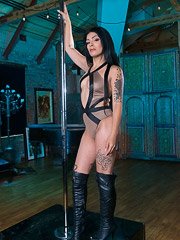 Aubrey Starr is a Delicious Sex Slave in the Attic