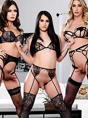Khloe Kay, Jade Venus and Casey Kisses