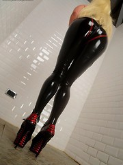 Skintight and Shiny